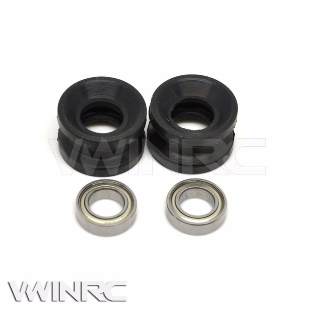 VWINRC 550E 600ESP Torque Tube Bearing Holder Set H60124 Rc Helicopter remote control gyro heli toys 2.4G for align trex