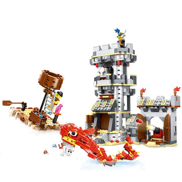 Lepin 54041 744Pcs Pirate series Sea monsters struck Model Building Blocks Set  Bricks Toys For Children Gift wange lepin 22001 pirate ship imperial warships model building block briks toys gift 1717pcs compatible legoed 10210