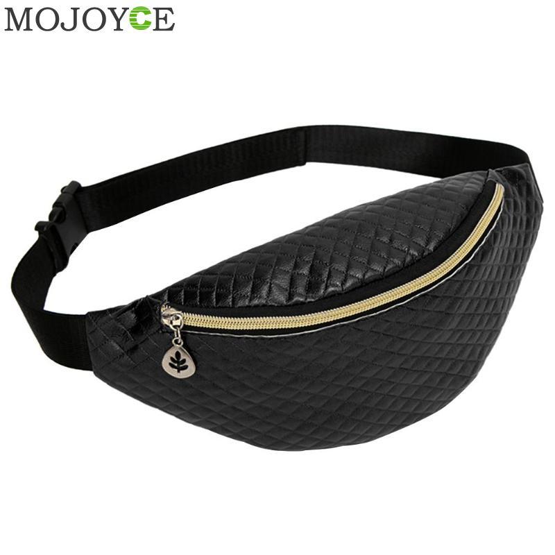 2019 New Waist Bag Women Pu Leather Fanny Packs Belt Bags For Women Bum Bag Chest Bag Phone Money Pouch