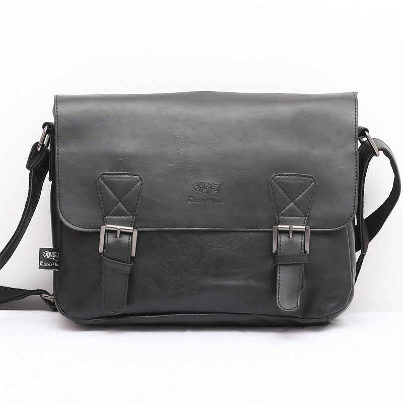 Men Bag Briefcase Tote Messenger-Bags Travel-Bags Genuine-Leather Brand-New Business