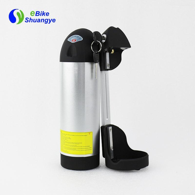 48V10AH bottle battery short case 375mm*90mm