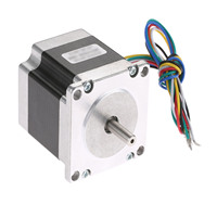 Nema 23 1.8 Degree Hybird Stepper Motor 56mm 2A 2 Phase Nema 23 Stepper Motor 57 6 leads 0.9N.m For 3D Printer Monitor Machinery