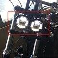 Nuevos Faros LED Para Harley Dyna Fat Bob FXDF Modelo Daymaker proyector LED Lámparas Daymaker Fat Bob Faro Dyna Fat Bob
