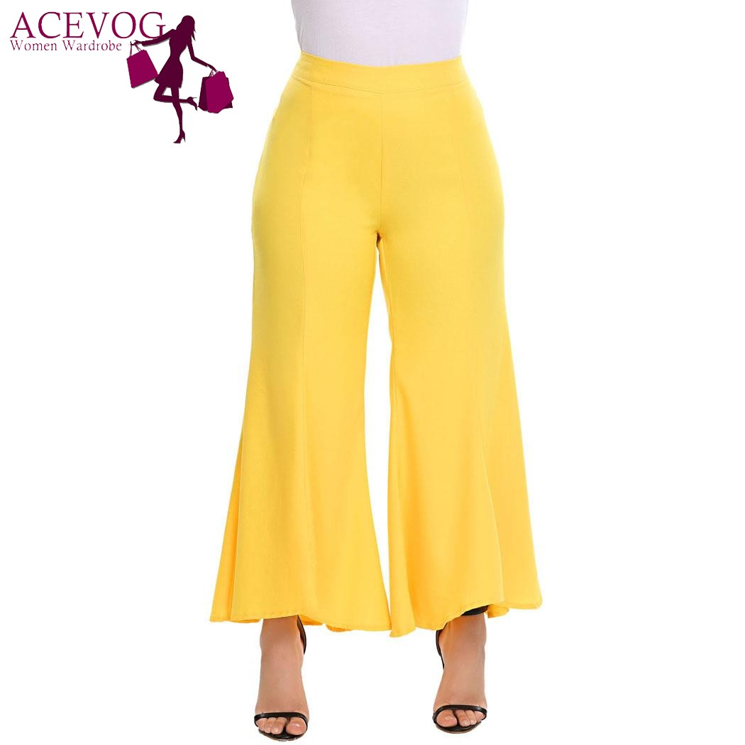 Buy plus size womans boot cut pantes and get free shipping on AliExpress.com 41c51100c567