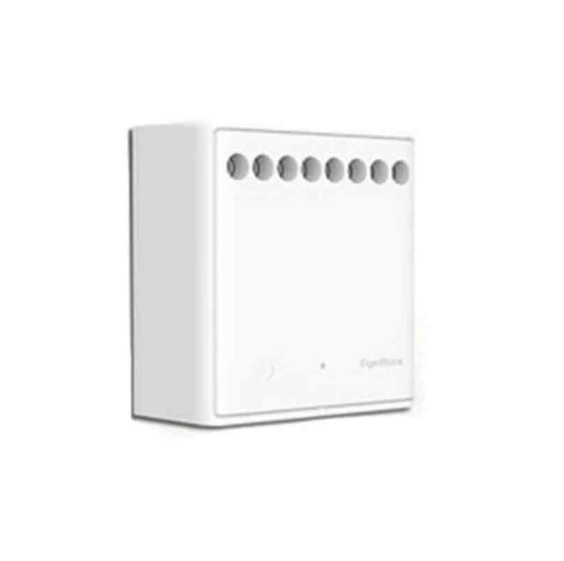 Aqara Eigenstone Dua Arah Modul Kontrol Nirkabel Relay Controller 2 Saluran Bekerja untuk Mijia Aplikasi Mi Home Homekit
