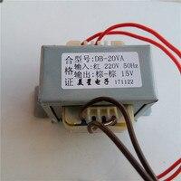 6V 9V 12V 15V 18V 24V 36V 48V 110V 220AC Power Transformer 220VAC 20VA EI57 Transformer