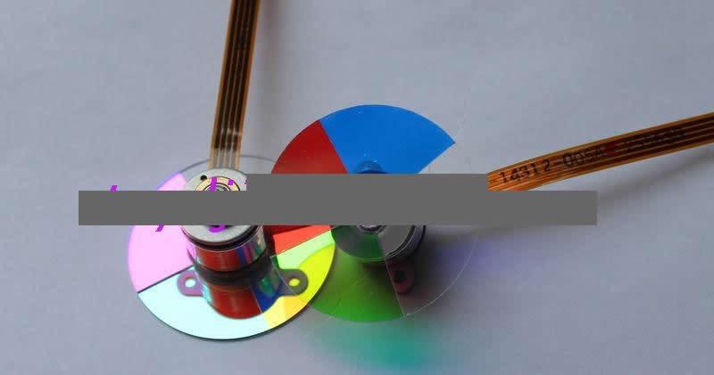Projector Color Wheel For S-35 S-30 S-45 S-20 w710st w770st w700 w703d projector color wheel color separations used disassemble