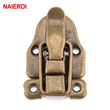Naierdi 58*40 мм винтажный замок старинная бронзовая застежка