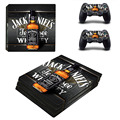 Jack Daniels PS4 Pro Console Stickers For Sony PlayStation 4 Pro Console and Controller Vinyl Decal For Ps4 Pro Skins