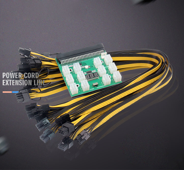 Power-Conversion-Board Graphics-Card Power-Supply Server Support 6pin Self-Start And