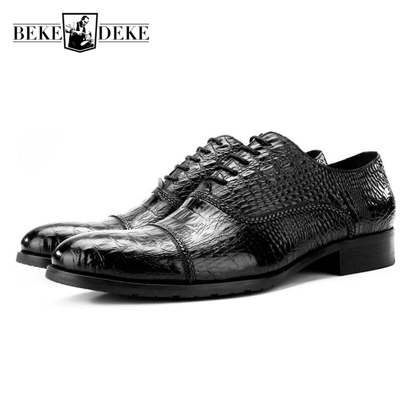2018 New Italy Design Business Men Formal Shoes Cow Genuine Leather Wedding Dress Shoes Lace Up Pointed Toe Man Footwear Zapatos mabaiwan fashion new design leather dress men shoes lace up italy business wedding formal shoes men metal pointed toe male flats