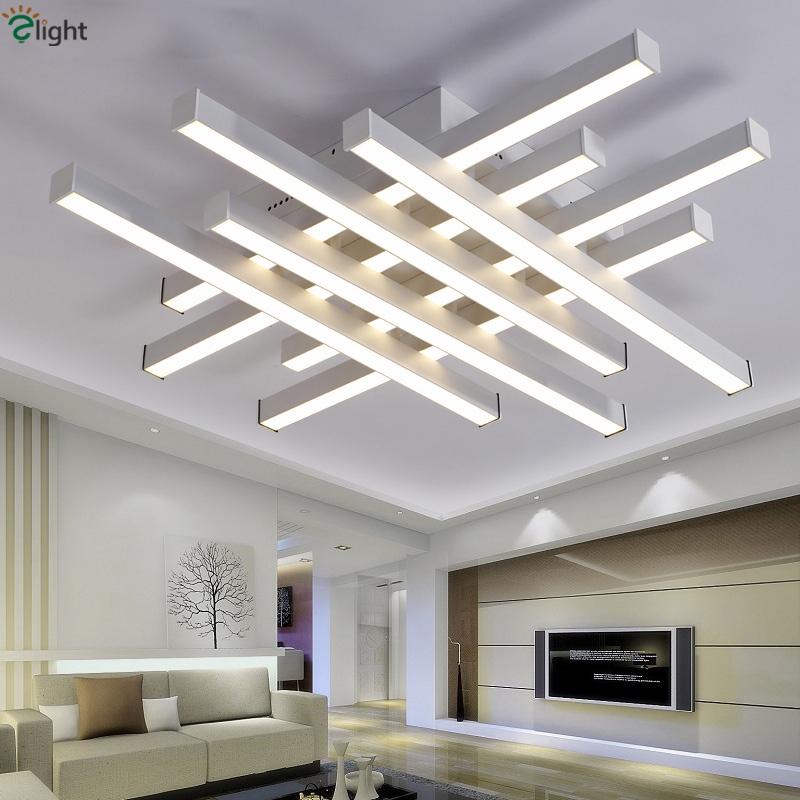 New Ceiling Lamp For Living Room Surface Mounted Ceiling Lights Modern Lamp Ceiling Acryl Led Living Room Lights Delicious In Taste Ceiling Lights Ceiling Lights & Fans