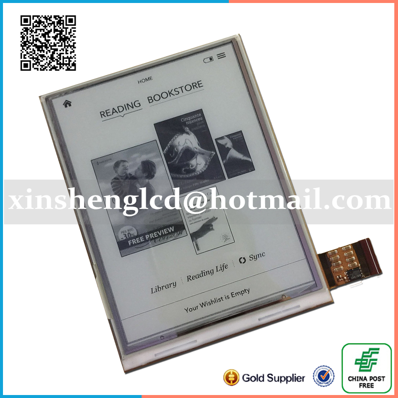 100%Original 6 1024*758 E-ink LCD display for pocketbook reader book 1 ebook reader Free Shipping srjtek 100% original new 100% ed050sc5 5 e ink for pocketbook 515 reader lcd display free shipping