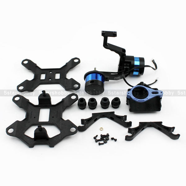 Tarot T-2D 2 Axis Camera Brushless Gimbal TL68A08 For Gopro Hero 3 FPV tarot tl3t05 for gopro 3div metal 3 axis brushless gimbal ptz for gopro hero 5 for fpv system action sport camera nwz
