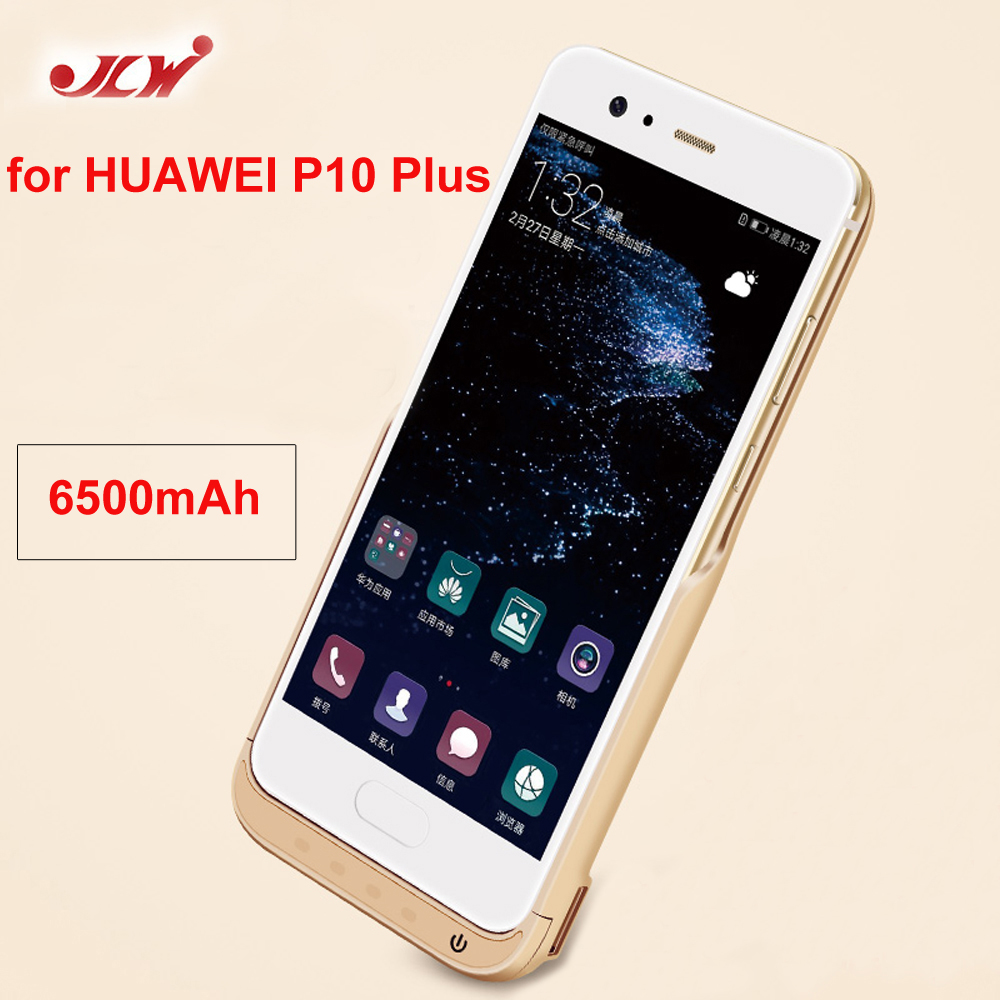 JLW 6500mAh <font><b>Battery</b></font> Charger <font><b>Case</b></font> for <font><b>HUAWEI</b></font> <font><b>P10</b></font> Plus External Backup <font><b>Battery</b></font> Clip Rechargeable Phone <font><b>Case</b></font> For <font><b>Huawei</b></font> <font><b>P10</b></font> Plus image