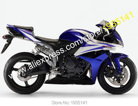 Hot Sales Blue Black White ABS Body Kit For Honda CBR600RR F5 2007 2008 CBR 600