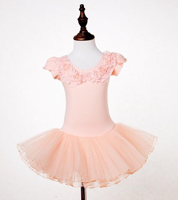 5becb9e96b 2-9 Anos de Miúdos Roupa de Balé Meninas Ballet Tutu Collant De Ginástica  Balé