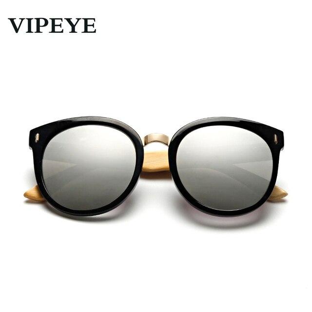Feixe de Plástico Metal Frame de madeira De Grandes Dimensões Óculos De Sol  Das Mulheres Designer ... 5995b3b717