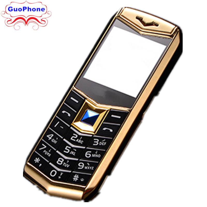Mini De Luxe A88 Téléphone 1.5 MP3 Caméra bluetooth Lampe De Poche enfants Téléphone Téléphone Portable En Métal