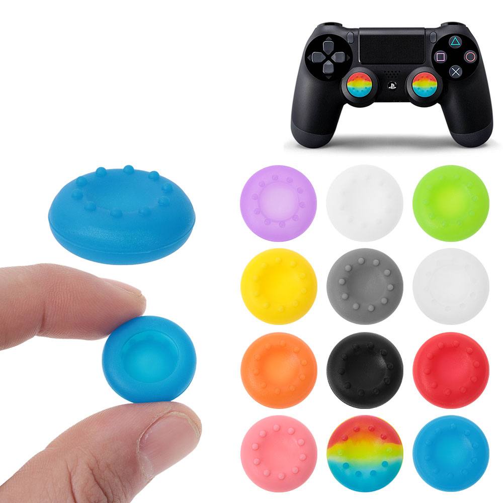 New Coming 10pcs Colorful  Controller Joystick Silicone Case Thumbstick Grips Cover Caps For PS3 PS4 XBOX ONE 360 Anti-slip