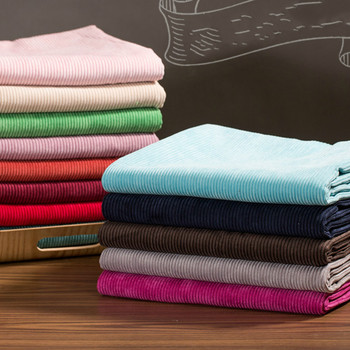 100x150cm Thicken Corduroy Stripes Cotton Fabric DIY Handmade Sewing Clothes Bags Supplies Decoration Stoffe Meterware 1