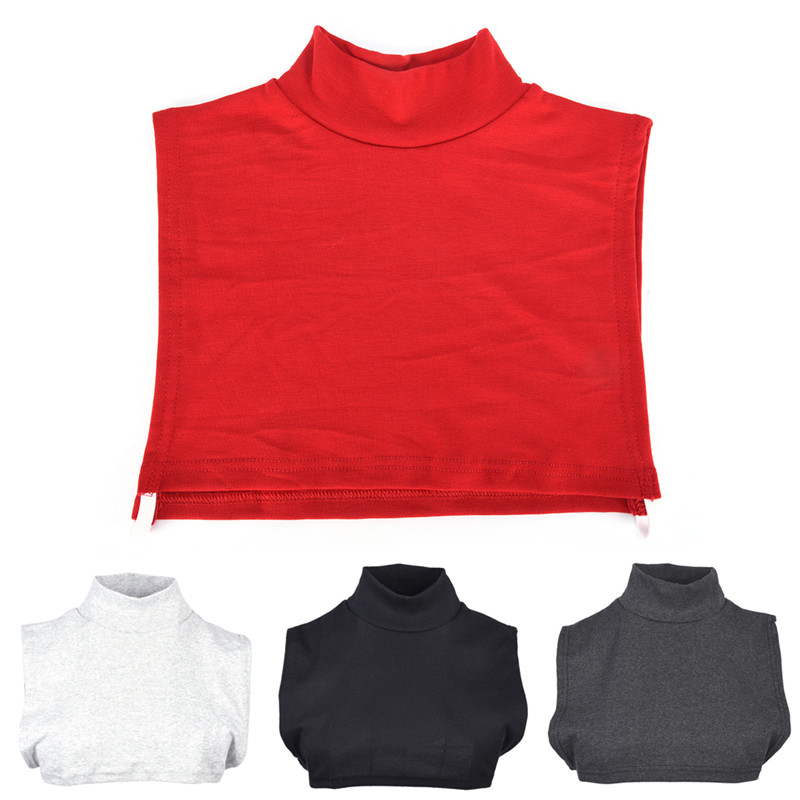 Women Fake Collar Turtleneck Soft Removable Detachable High Collars Women Apparel Accessories