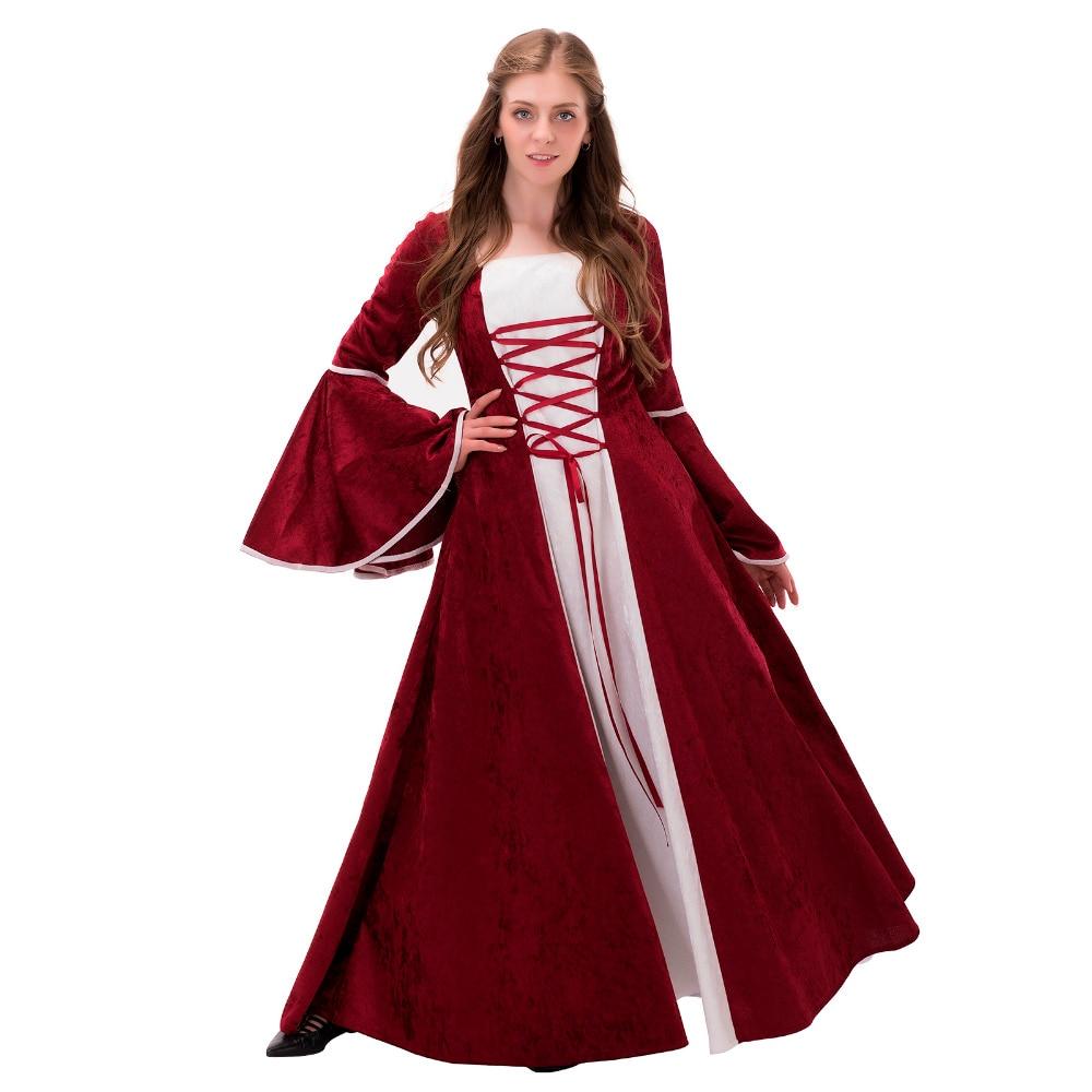 Medieval Renaissance Civil War Wedding Dress Ball Gown