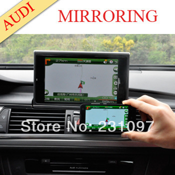 smartphone mirror link multimedia interface for audi a3 a4. Black Bedroom Furniture Sets. Home Design Ideas