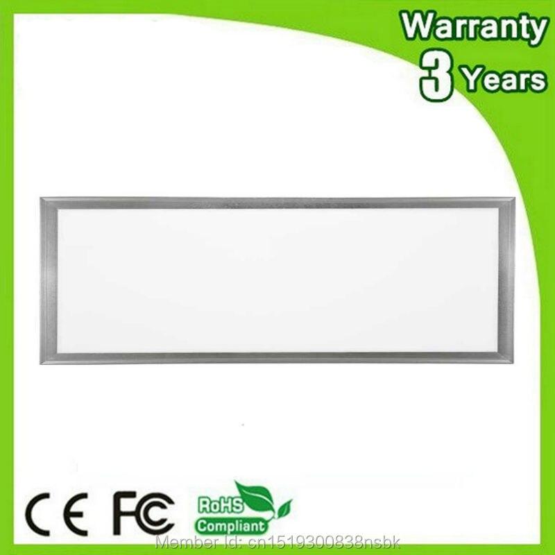 ФОТО (12PCS/Lot) 3 Years Warranty 100-110LM/W CE RoHS 40W 300x1200 300*1200 LED Panel Light 300x1200mm 30x120cm