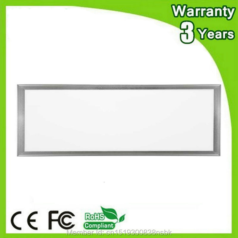 (12PCS/Lot) 3 Years Warranty 100-110LM/W CE RoHS 40W 300x1200 300*1200 LED Panel Light 300x1200mm 30x120cm