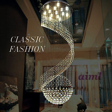 FashionModern Crystal Chandelier Pendant Lighting Hanging Ceiling Lamps Fixtures with LED Source Clear K9 Crystal led crystal pendant light contemporary hanging lamps fixtures with l80cm w80cm h110cm ac 100 240v kingdom lighting
