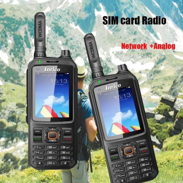 2019 새로운 네트워크 양방향 라디오 T298s WCDMA GSM WIFI GPS 블루투스 워키 토키 UHF 인터콤 트랜시버