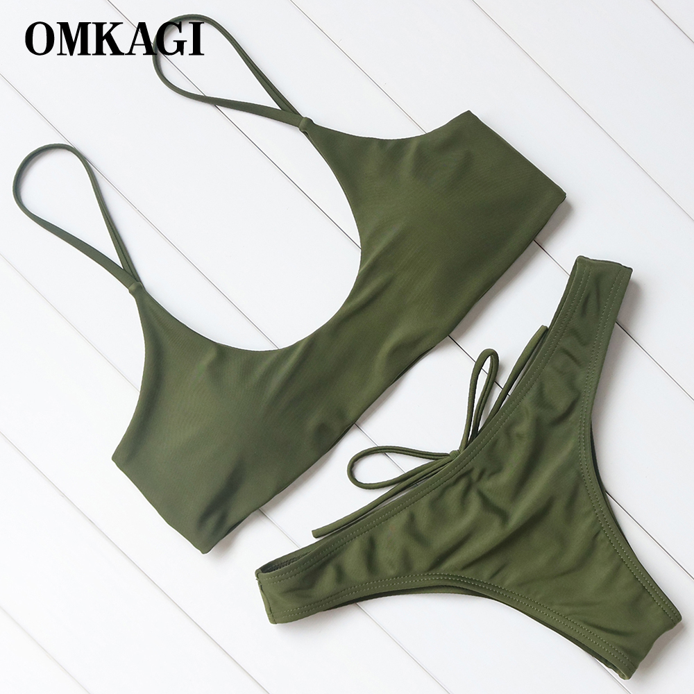 OMKAGI Brand Bikini 2018 Swimsuit Women Swimwear Biquinis Sexy Push Up Bikinis Set Swimming Bathing Suit Maillot De Bain FemmeOMKAGI Brand Bikini 2018 Swimsuit Women Swimwear Biquinis Sexy Push Up Bikinis Set Swimming Bathing Suit Maillot De Bain Femme