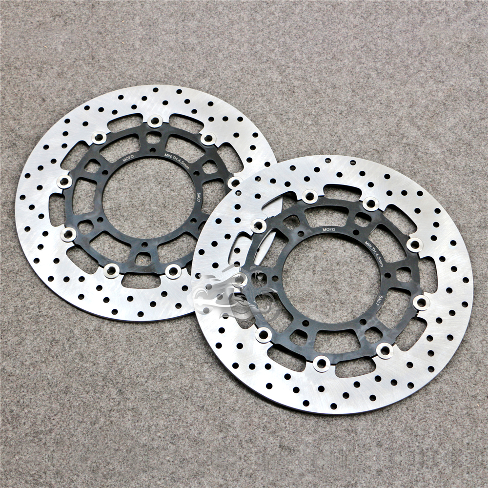 Floating Front Brake Disc Rotor For Motorcycle Husqvarna TR650 Strana 650 13-14 & TERRA 650 13-14