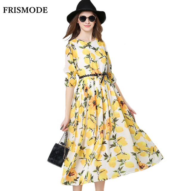 Yellow summer dresses for sale