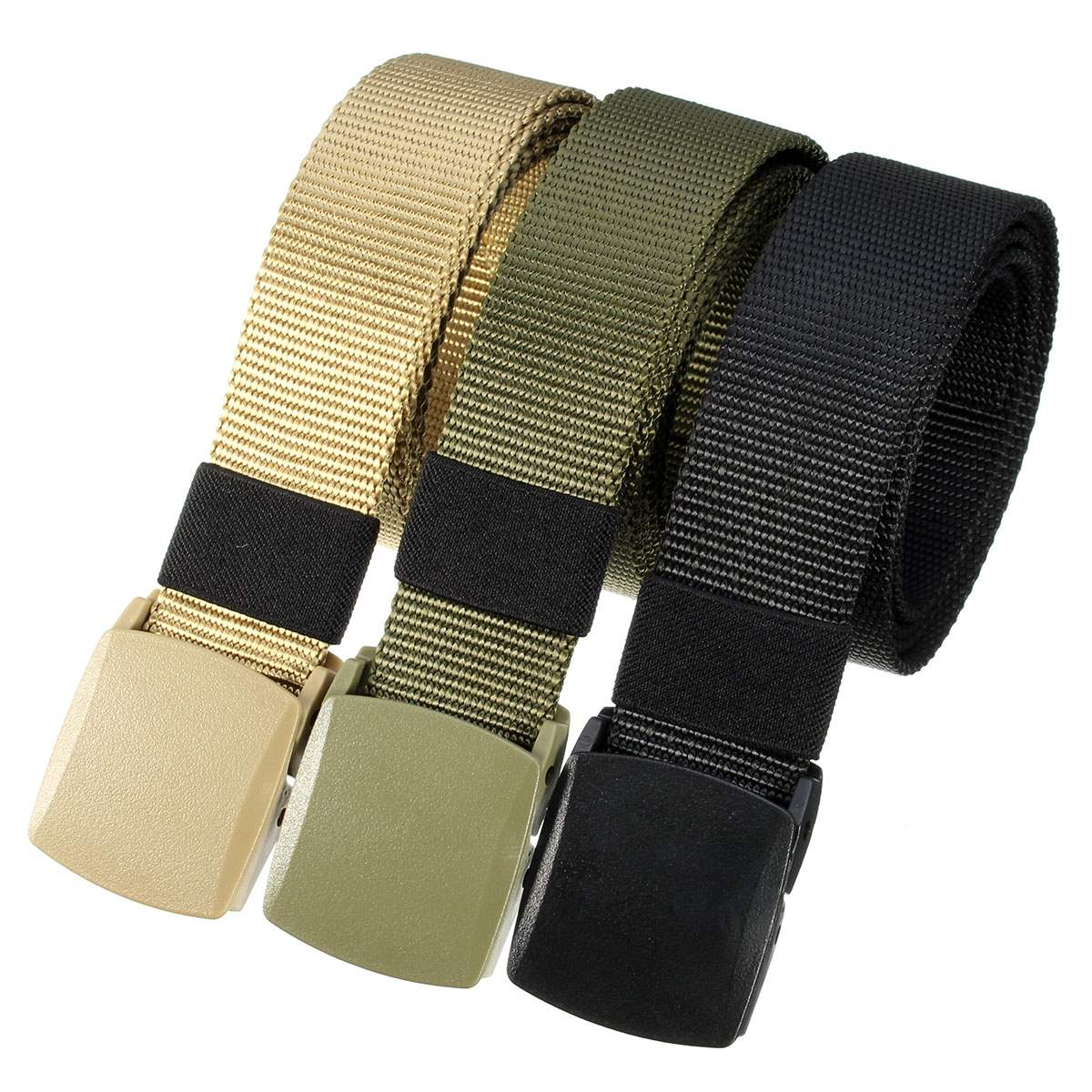 Quick-drying Automatic Buckle Polyester adjustable Belt Army Tactical Hunting Waistband Outdoor Military Rescue Survival Belt цена