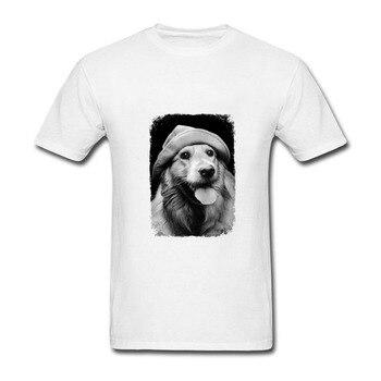 Camiseta Hipster Cool SCOUT perros estampado moda de verano hombres camiseta divertida perro arte casual Tops lindo niño camiseta de dibujos animados
