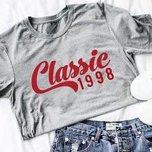 Sommer Tops Baumwolle Enjoythespirit Premium O NECK Classic T Shirt 20th Geburtstag Gift1998 Hemd