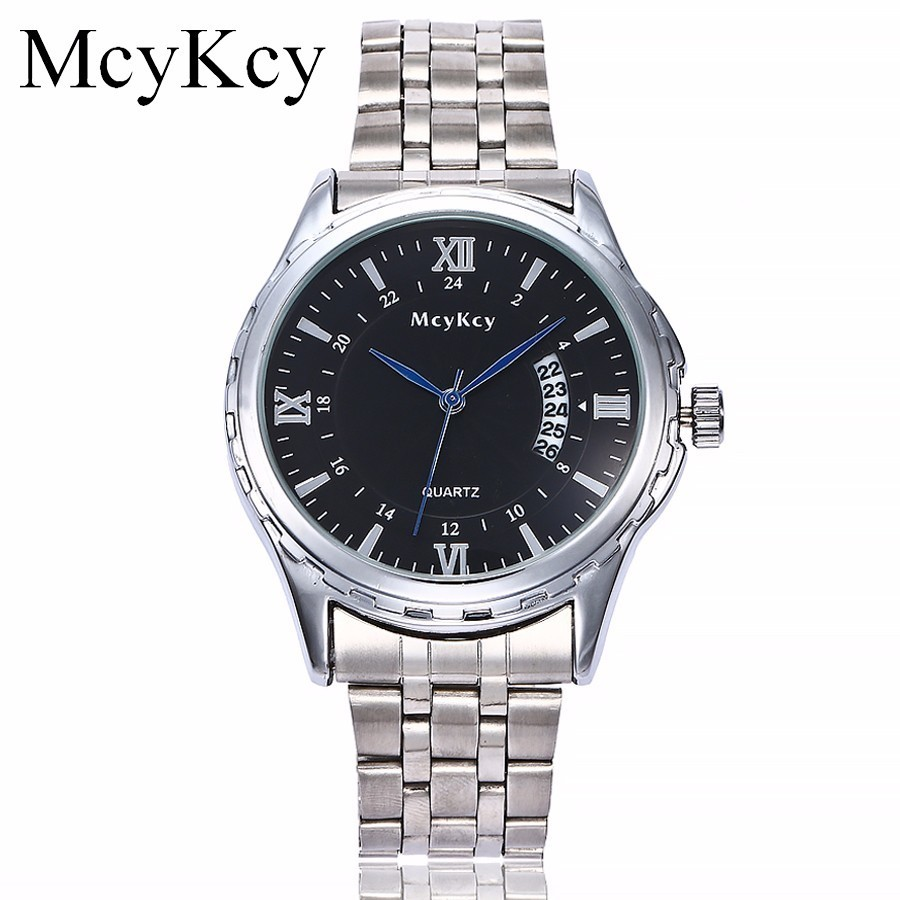 McyKcy Watch Men Business Waterproof Clock Watches Top Brand Luxury Fashion Casual Sport Quartz Wristwatch Relogio Masculino все цены