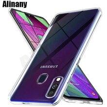 Для samsung Galaxy A40 силиконовый прозрачный футляр из ТПУ чехол для телефона для samsung A40 GalaxyA40 40 A405F A405F SM-A405F