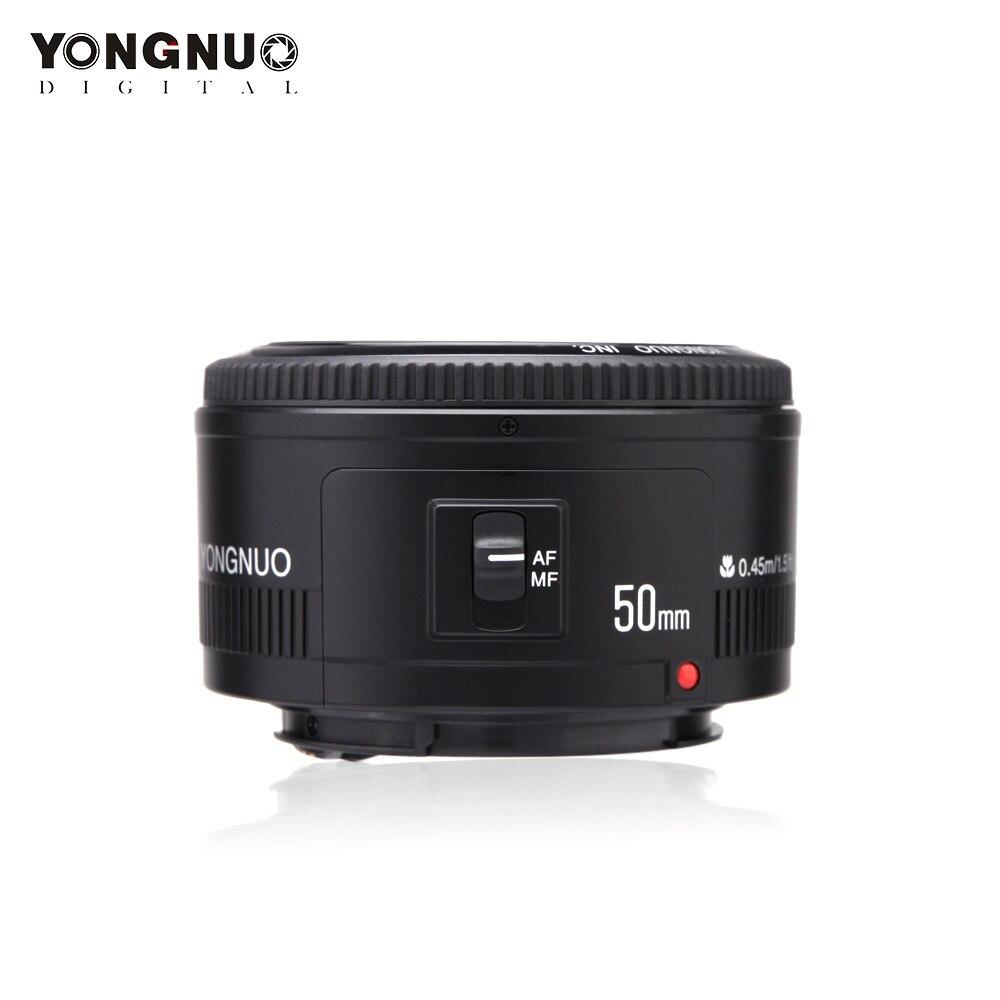 YONGNUO YN50mm f1 8 Auto Focus Lens for Canon EOS 60D 70D 5D2 5D3 600d DSLR