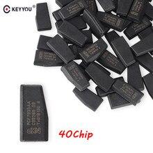 KEYYOU 10x zdalny klucz samochodowy Chip ID40 Chip transpondera ID 40 Crypto Carbon ID40 Chip dla Vauxhall Opel