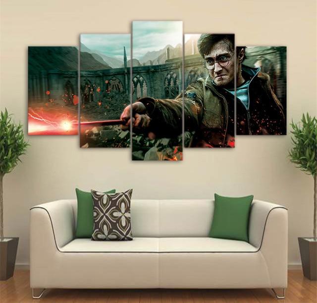 5 Stücke Film Malerei Leinwand Wandbilder Wohnzimmer Bilder Stern ...