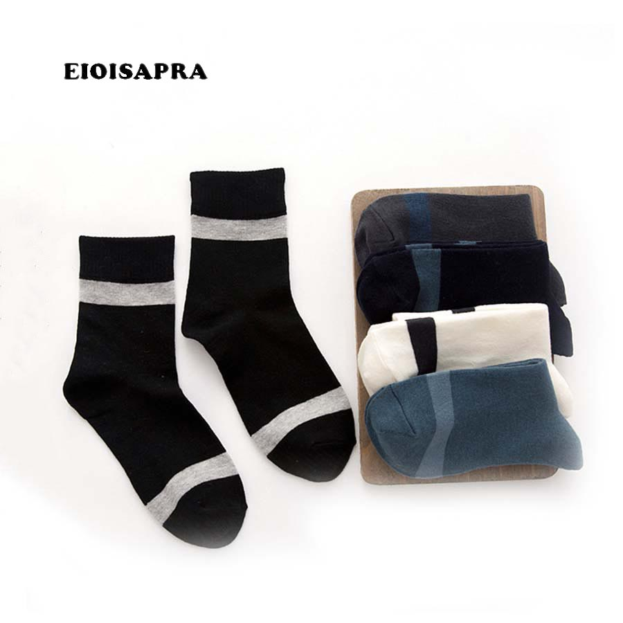 [EIOISAPRA]Simple Business Design Funny Socks Men Creative Cute Funny Sokken Japan Harajuku Men Socks Novelty Calcetines Hombre