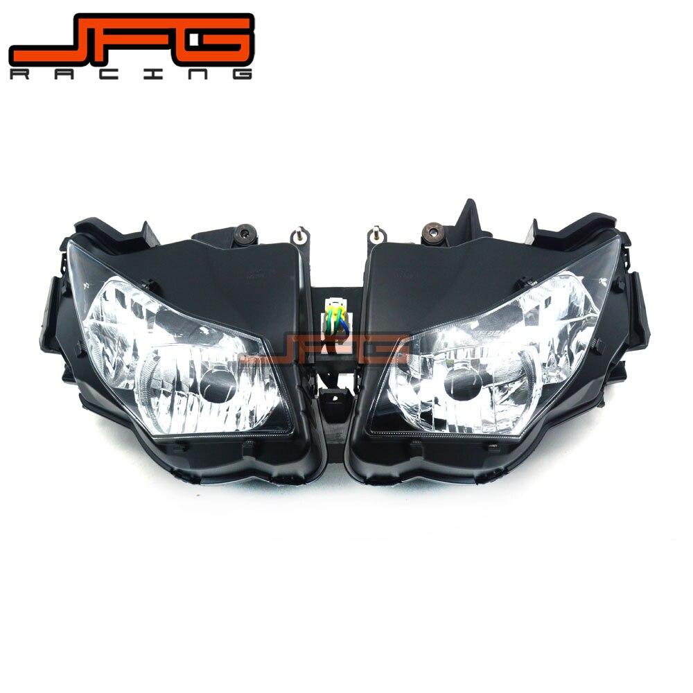 Clear Front Headlight Headlamp Street Fighter for Honda CBR1000RR CBR 1000RR CBR1000 RR 2012-2015 2012 2013 2014 2015 racing engine cover set protection guard for honda cbr 1000 rr cbr1000 rr cbr1000rr 2012 2013 2014 2015 2016