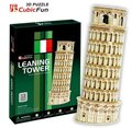 Paper model,Children's DIY toy,Paper craft,Birthday gift,3D educational Puzzle Model,Card model,Leaning Tower