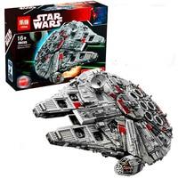 LEPIN 05033 5265pcs Star SeriesCollector S Millennium Falcon Model Building Block Brick Educational Toy For Children