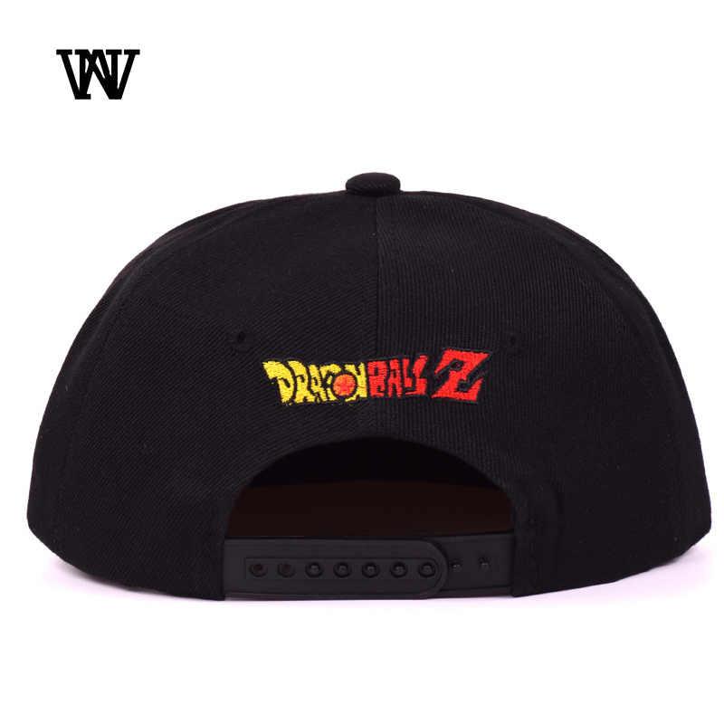 2020 Goku Dragon Ball Кепки женский Snapback бейсболки женские черная бейсболка Повседневное мужская шляпа для Для мужчин Вышивка Bone BQM-CZX72