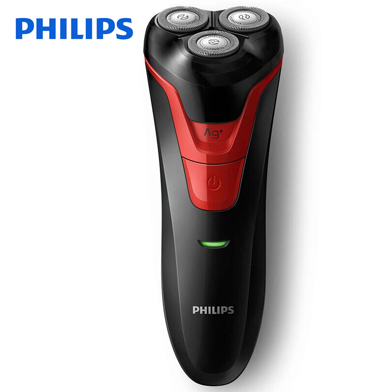 100% Original Philips Electric shaver FT688 Rechargeable Rotary Washable With Ergonomics Handle 3D Floating Heads Ni-MH Battery philips s551 electric double heads 3d shaver