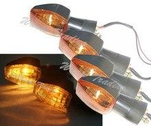 4 unids front & rear señales de vuelta de la bombilla de luz para honda CBR929RR CBR954RR CBR600F4i CBR 929 954 600 RR F4 CBR600F4 F4i